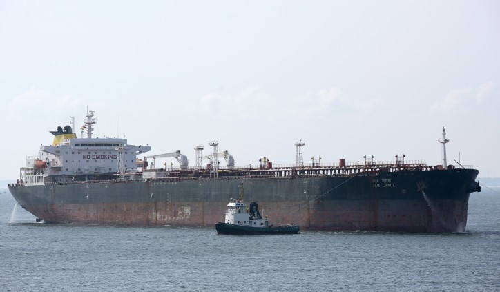 Taiyo Oil-chartered Aframax's Japan arrival delayed after minor collision