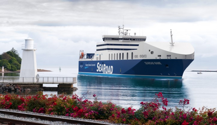 biggest LNG-powered ferry