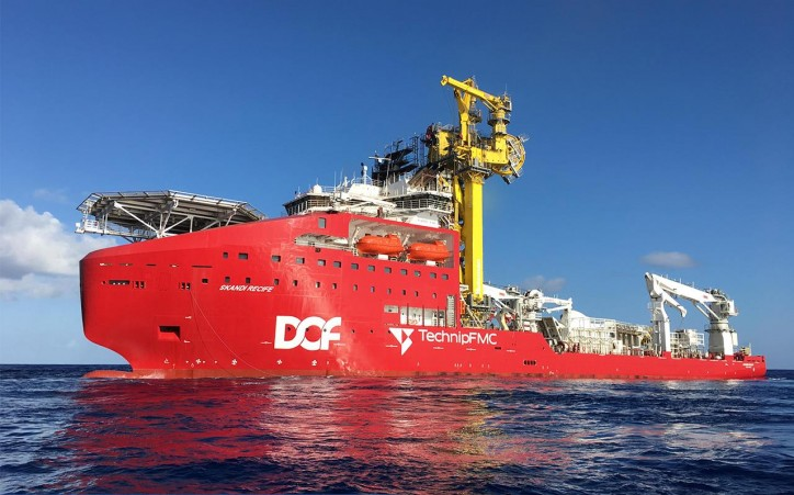 TechnipFMC and DOF Subsea Announce the Delivery of Skandi Recife and Commencement of Contract with Petrobras