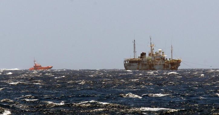 Spanish SAR vessel saved 37 seamen in distress