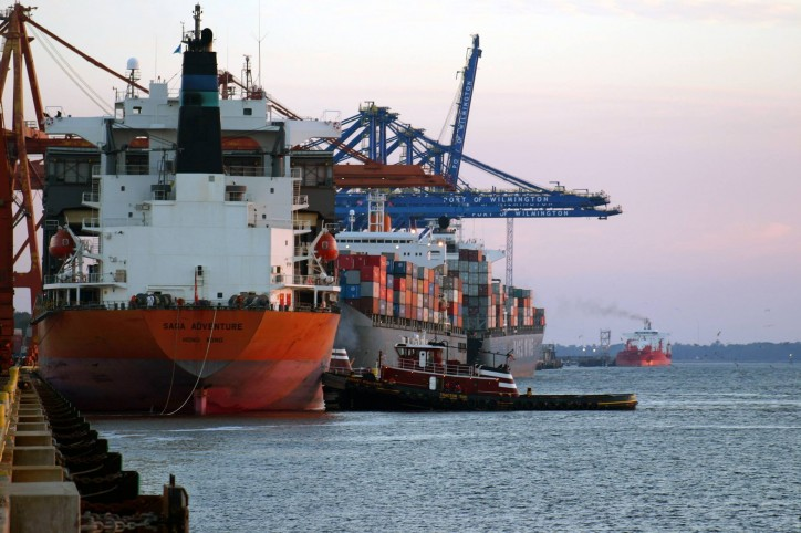 Infrastructure Investments Continue at North Carolina Ports, Additional Cranes Ordered