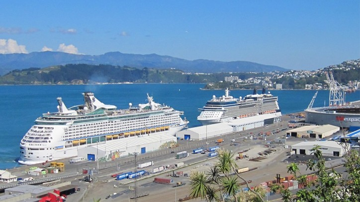 Another bumper cruise season ahead at Wellington Port, NZ