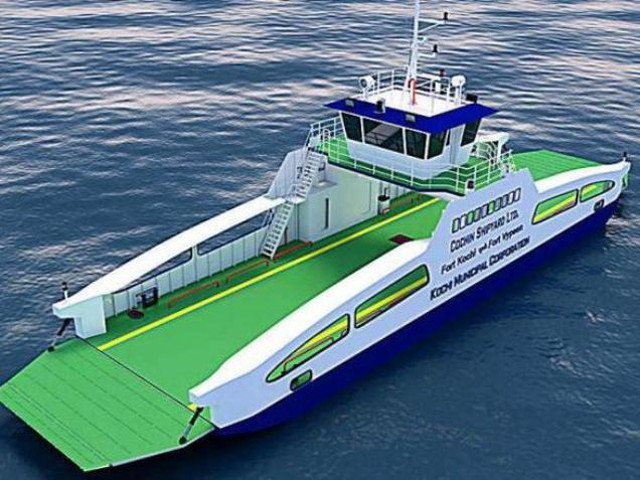 Cochin Shipyard Limited (CSL) Lays The Keel Of The Second Double Ended RoRo Ferry