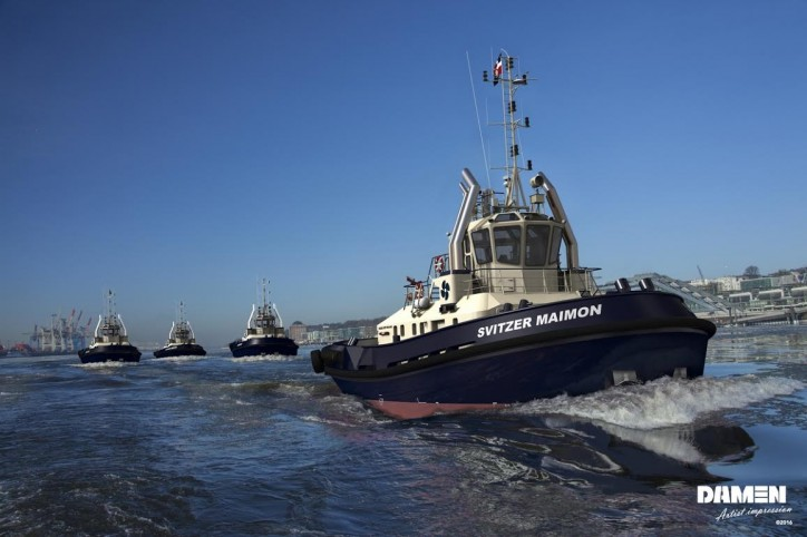 Svitzer Purchases Four Tugs for Fleet Renewal from Damen Shipyard Group