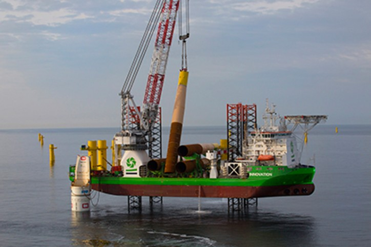 DEME's subsidiary GeoSea to design, manufacture and install turbine foundations for EnBW offshore wind farm Hohe See in Germany