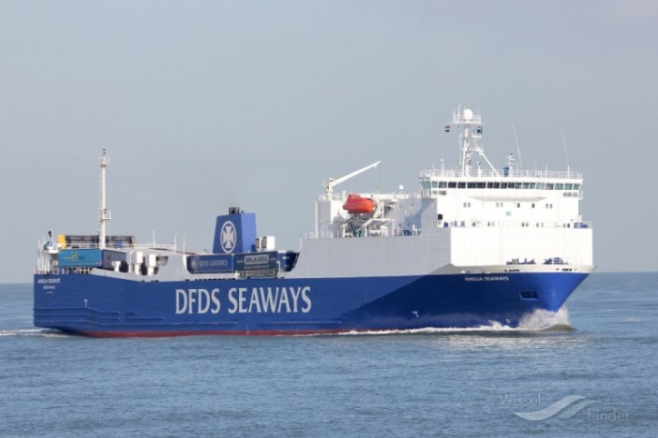 DFDS: Order Of Two Freight Ships (RO-RO) Boosts Efficiency