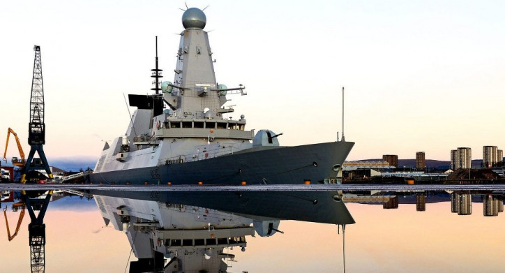 UK Warship to support French Carrier Against Islamic State