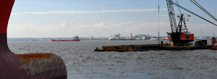 Army Corps Crews Begin Dredging Six Baltimore Harbor Channels