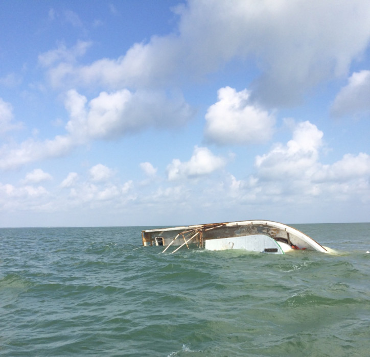 Coast Guard rescues 3 from vessel taking on water near Matagorda, Texas