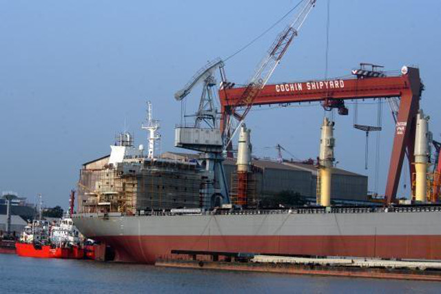 India Launches Tax Breaks to Boost Its Shipbuilding