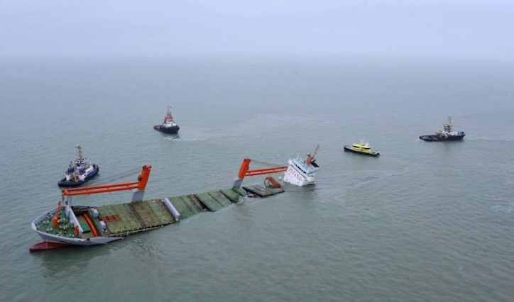 Plans to Salvage Sunken Dutch Freighter Kicked Off