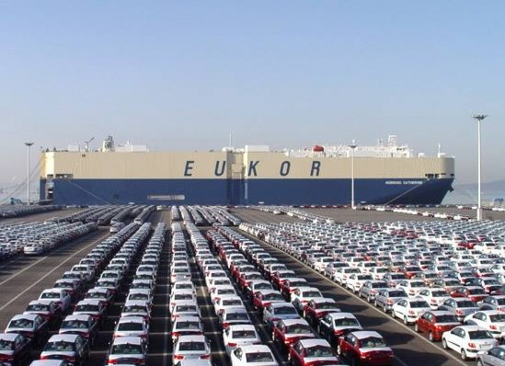 South Korea's Fair Trade Commission fines 43 bln won on nine global car carriers
