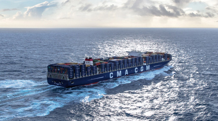 CMA CGM placed order for six 14,000 teu boxships with HHI