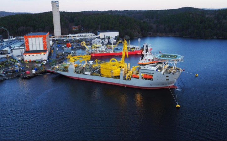 Jan De Nul Group prepares for NASR 2 cable installation