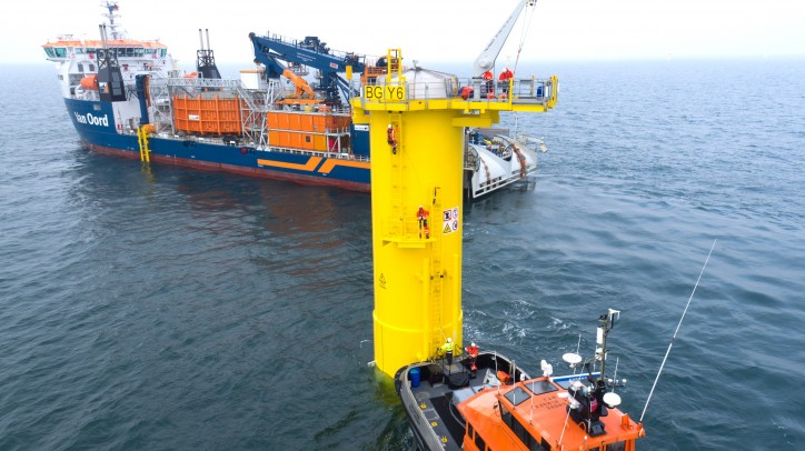 Van Oord to build Belgium's largest offshore wind project
