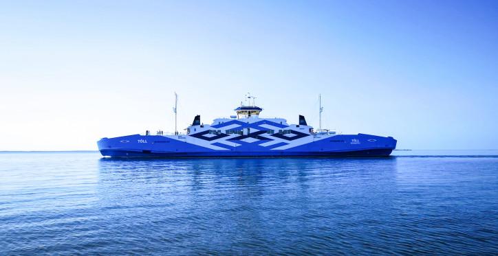 Ferry Tõll reconstruction into hybrid ship