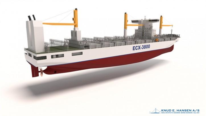 ECX-3800 3800 TEU Feeder Vessel