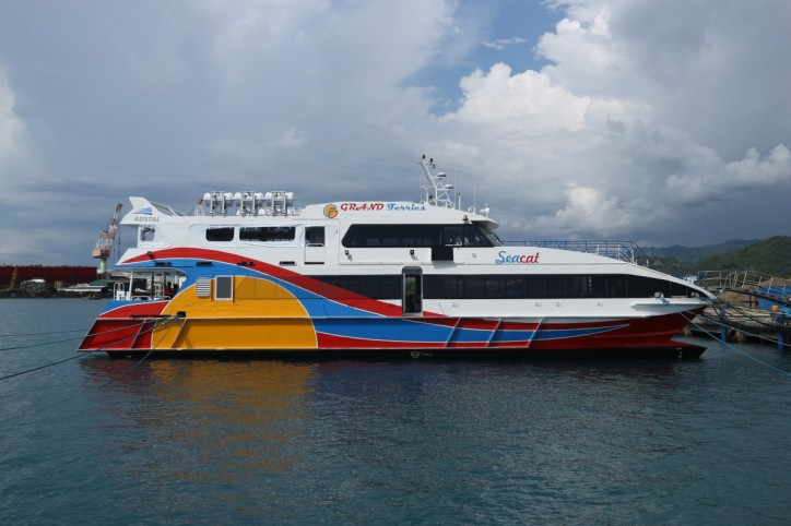 AUSTAL delivers high-speed catamaran to VS Grand Ferries
