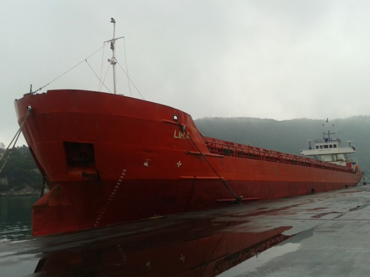 UPDATE: Turkish dry cargo ship LIRA arrested in Russia's Taganrog port