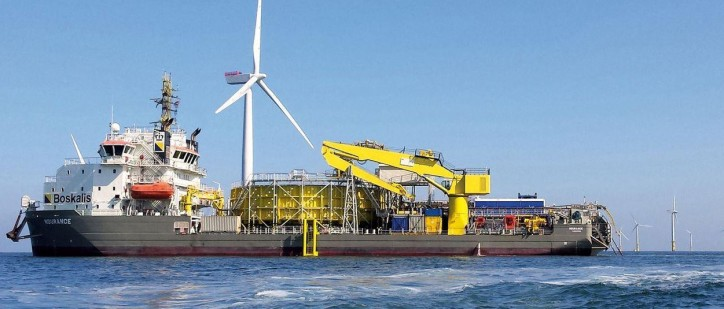 Boskalis awarded contract for Hornsea Offshore Wind Farm Project One