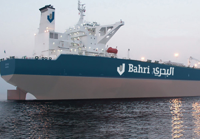 Saudi's Bahri says signs 700 mln riyal loan for oil tankers buy
