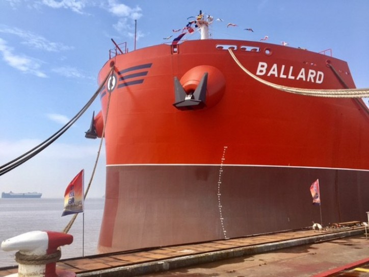 Combination Carrier Ballard is ready to set sail