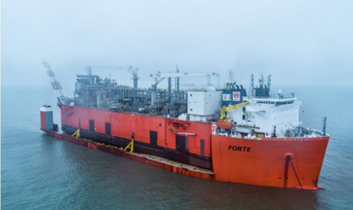 EXMAR's Tango FLNG sets sail to Argentina