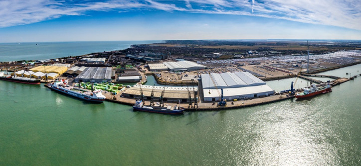 Peel Ports Sheerness Master Plan reaches significant milestone with demolition works and new timber facilities