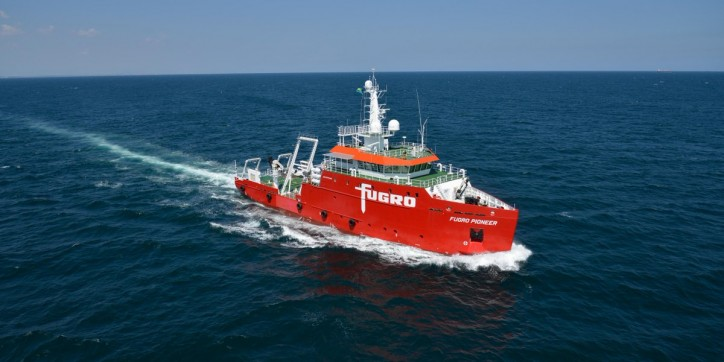 Fugro returns to Borssele Offshore Wind Farm Zone to conduct UXO survey