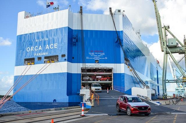 Next-Generation Car Carrier Calls Jaxport