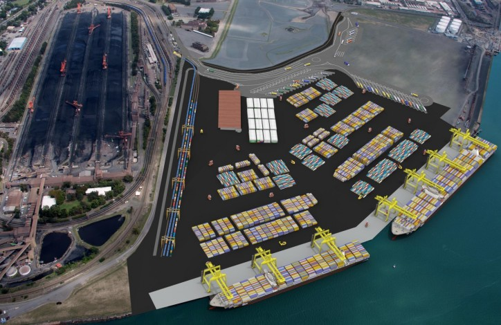 New CEO commits Port of Newcastle to developing world-class container terminal