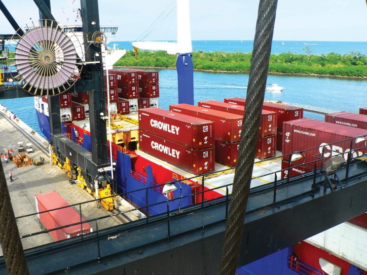 Crowley Enhances Container Shipping Service between Florida and Panama