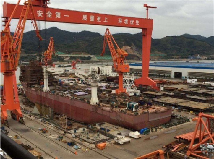 Fujian Mawei Shipbuilding notifies Nautilus of default by major contractor