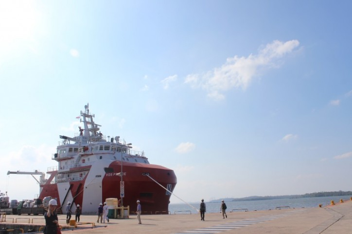 SSA welcomes the public to first-ever offshore support vessel visit