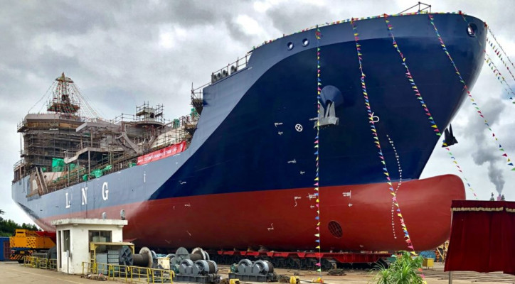 Avenir LNG bunker vessel now ready to supply methane to Sardinia