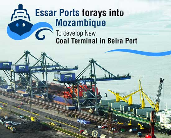 Essar Ports signs concession agreement with Mozambique government to develop new 20 MTPA coal terminal in Beira Port