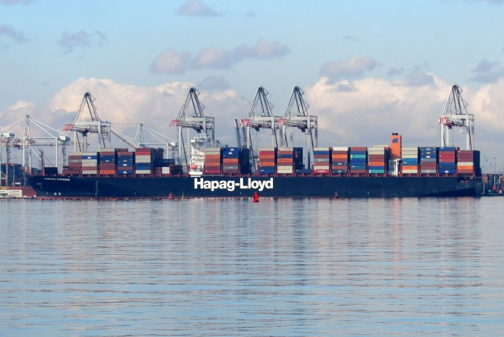 Hapag-Lloyd: Disappointing rate development affects results in first half of 2016