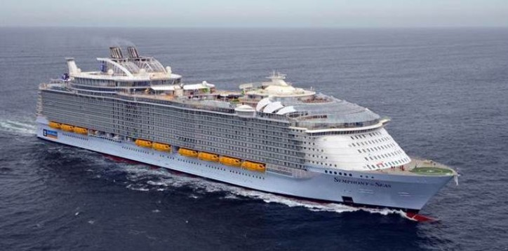 Successful first sea trials campaign for Symphony of the Seas