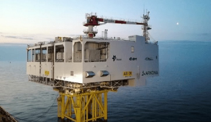 Installation at sea of ARKONA Transformer Station: a new challenger taken up by STX FRANCE