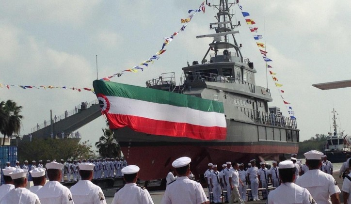 Mexican Navy orders three Damen Stan Patrol vessels (Video)