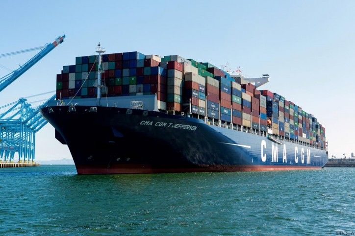 CMA CGM signs a binding agreement for the sale of a 90% equity interest in Global Gateway South terminal in Los Angeles