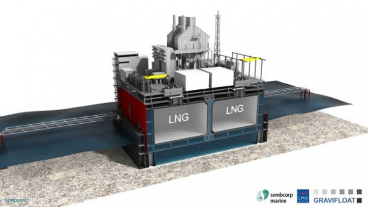 Sembcorp Marine and ENGIE sign an MOU to develop Gravifloat, an innovative LNG-to-Power near-shore terminal solution