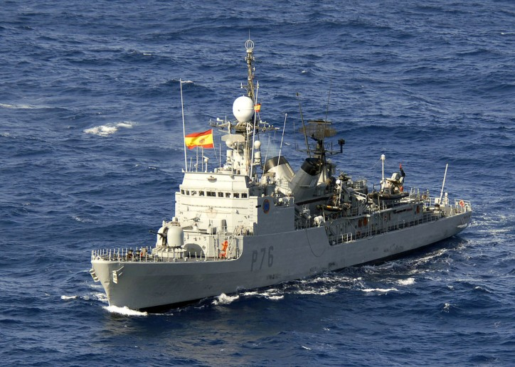 Britain protests after 'dangerous incursion' by Spanish warship