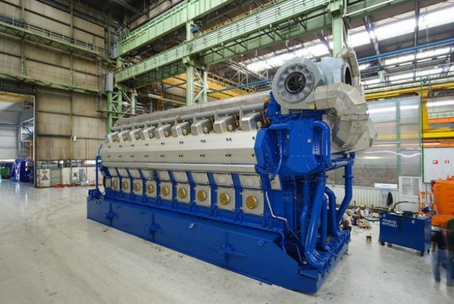Wartsila 50DF engine