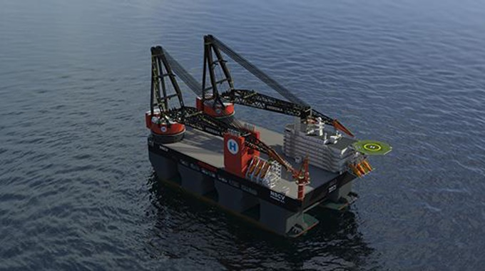 GE to power Heerema's new SSCV Sleipnir