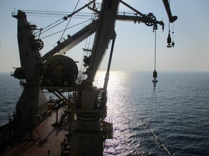 Maersk Supply Service completes first project with its new Stingray-Class SSV Maersk Installer