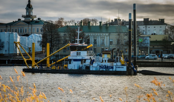 Damen delivers Cutter Suction Dredger 450 to Vesirakennus Ojanen Oy in Finland