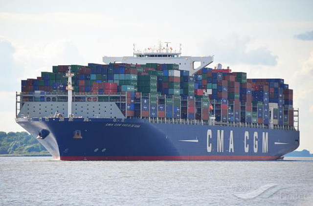 CMA CGM to improve its services connecting North Europe with Middle East and Asia