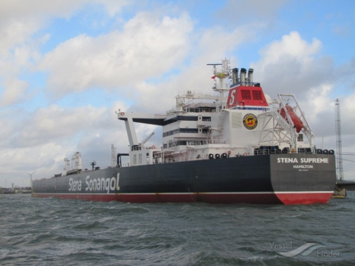 Concordia Maritime Signs Sale & Leaseback Agreement For Suezmax tanker Stena Supreme