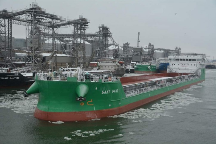 BF Tanker signs building contract for 7 new river-sea tankers